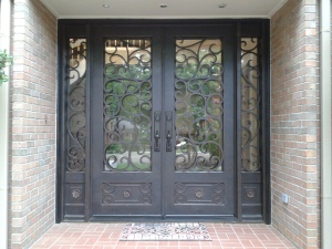 New awesome iron door