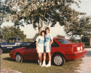 Cassie and I - 1987